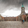 Dublin Castle Courtyard Panorama