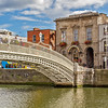 Ha'Penny bridge 3 of 3 for triptych - Dublin Ireland