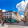 Eustace St and Essex St - The Norseman - Dublin Ireland