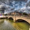 Bridge over Liffy River in Dublin