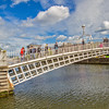 Ha'Penny bridge 1 of 3 for triptych - Dublin Ireland