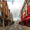 Suffolk Street from Grafton Street in Dublin - 2