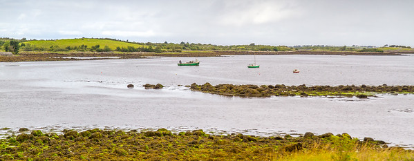 Hookers at Sea in Kinvarra - County Galway, Ireland