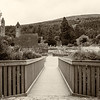Bridge to Ancient Monastic Village in Glendalough - Sepia