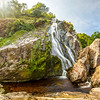 Powerscourt Waterfall - County Wicklow Ireland - Multi Panorama - 2