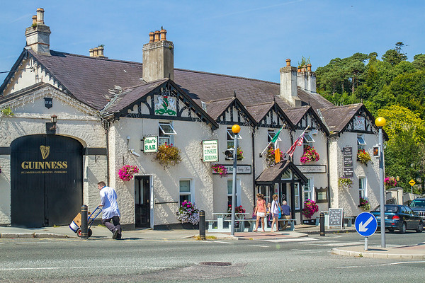 Mac's Pub and Powerscourt Arms in Enneskerry County Wicklow - Ireland