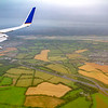 Flight into Ireland - coming in to land