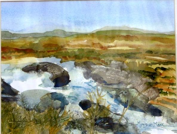Connemara Rushing Stream
