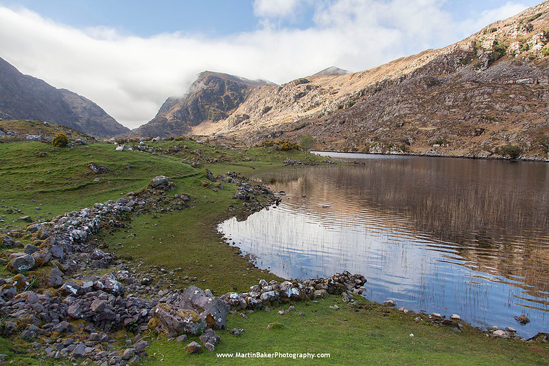 The Gap of Dunloe, Killarney, Kerry, Ireland.