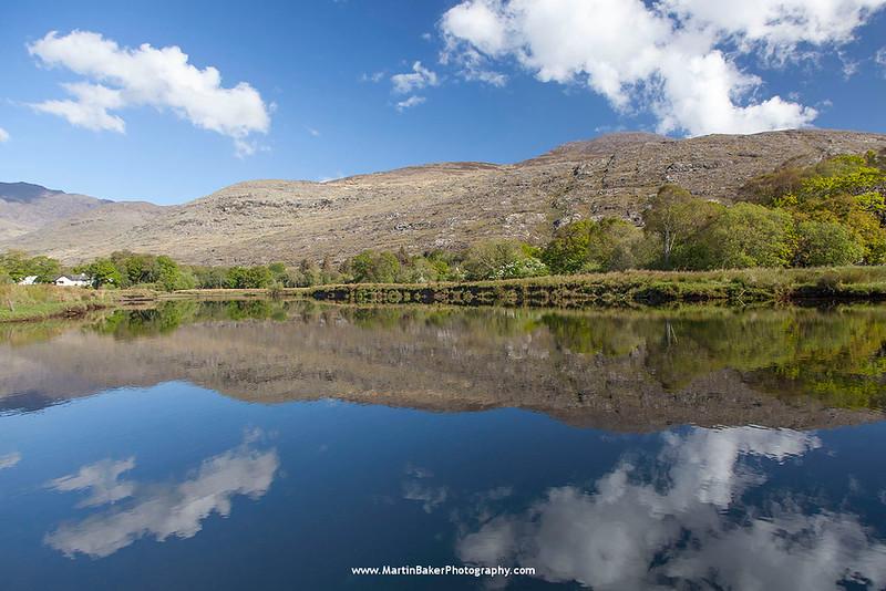 Upper Lake, Killarney National Park, Iveragh Peninsula, Killarney, Kerry, Ireland.