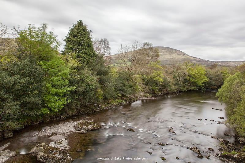 River Baurearagh, Bonane, Beara Peninsula, Kerry, Ireland.
