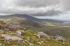 Brandon Peak and Brandon Mountain, Connor Pass,  Dingle Peninsula, Kerry, Ireland.