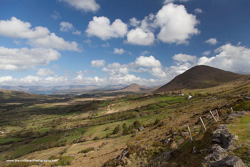 Healy Pass, Beara Peninsula, Kerry, Ireland.