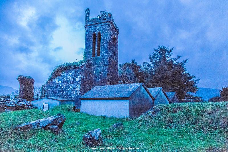 Cloghane, Dingle peninsula, Kerry, Ireland.