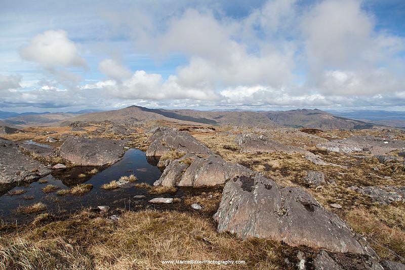 Caha Mountains, Beara Peninsula, Kerry, Ireland.