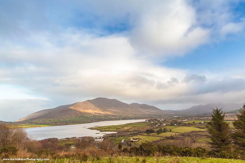 Knocknadobar Mountain, Cahirciveen, Iveragh Peninsula, Kerry, Ireland.