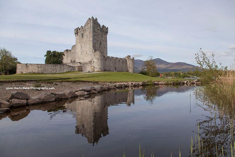 Ross Castle, Killarney, Kerry, Ireland.