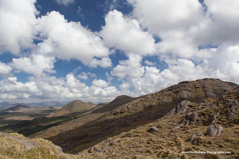 Caha Mountains, Healy Pass, Beara Peninsula, Kerry, Ireland.