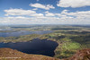 Lough Leane and Killarney (view from Torc Mountain), Killarney National Park, Kerry, Ireland.