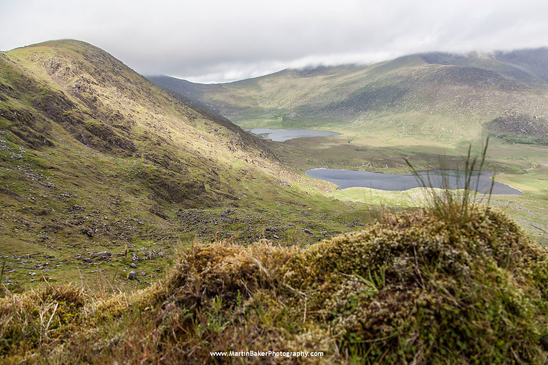Connor Pass, Dingle Peninsula, Kerry, Ireland.
