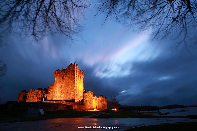 Ross Castle, Killarney National Park, Kerry, Ireland.