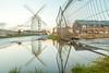 Blennerville Windmill, Blennerville, Tralee, Kerry, Ireland.