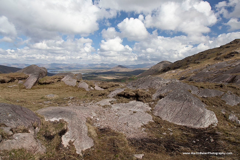 Caha Mountains, Healy Pass, Beara Peninsula, Kerry, Ireland.