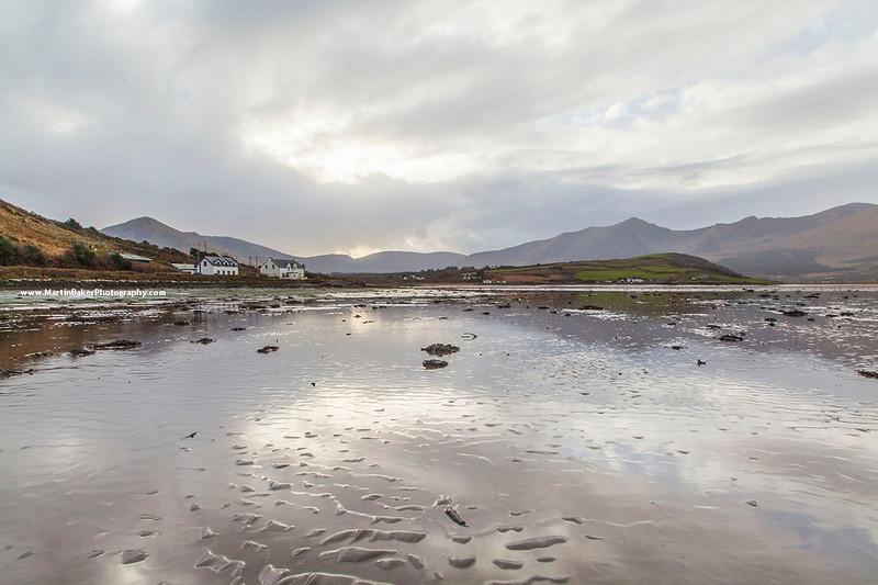 Cloghane and Mount Brandon, Dingle Peninsula, Kerry, Ireland.