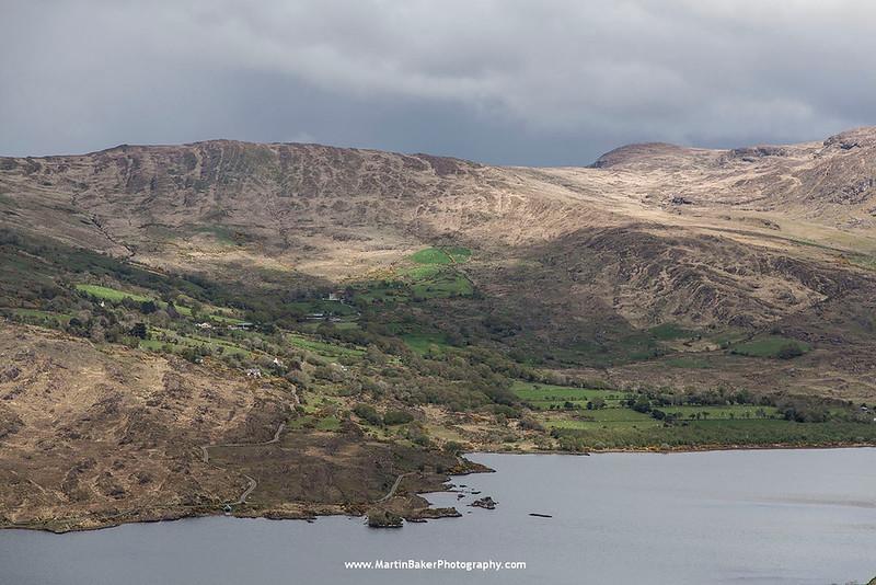 Lough Inchiquin, Beara Peninsula, Kerry, Ireland.