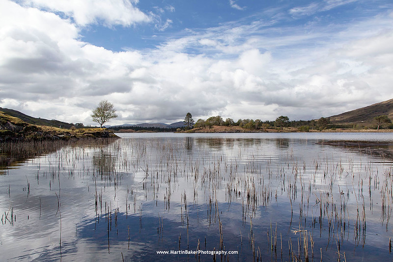 Clonee Lough, Beara Peninsula, Kerry, Ireland.