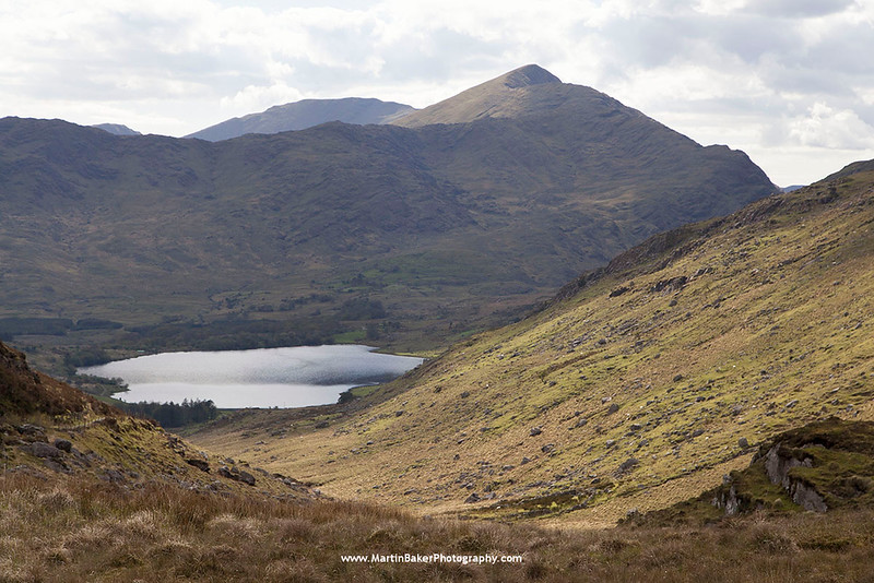 Lough Brin, Iveragh Peninsula, Kerry, Ireland.