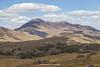 MacGillycuddy's Reeks (view from Molls Gap area), Kerry, Ireland.