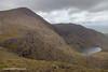 Carrauntoohil and Hag's Glen, MacGillycuddy's Reeks, Kerry, Ireland.