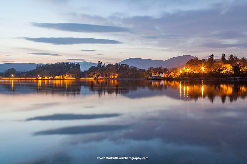 Kenmare Bay, Kenmare, Iveragh Peninsula, Kerry, Ireland.