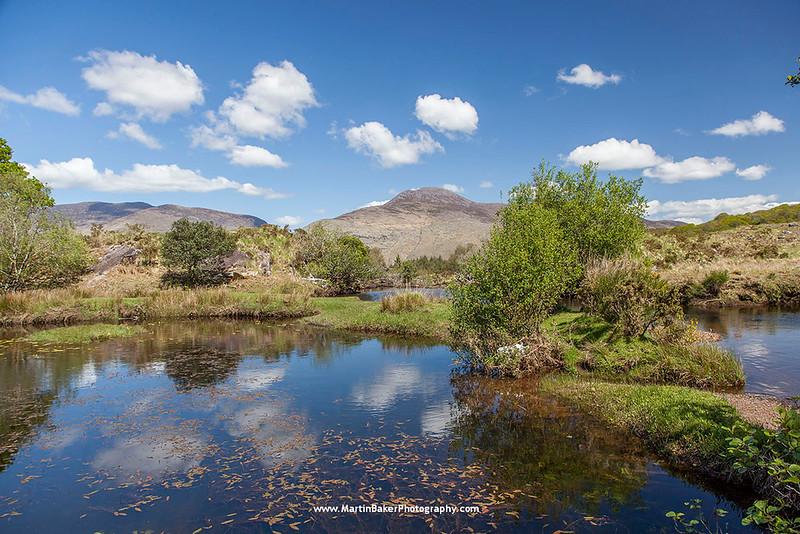 River Owenreagh, The Black Valley, Killarney, Kerry, Ireland.