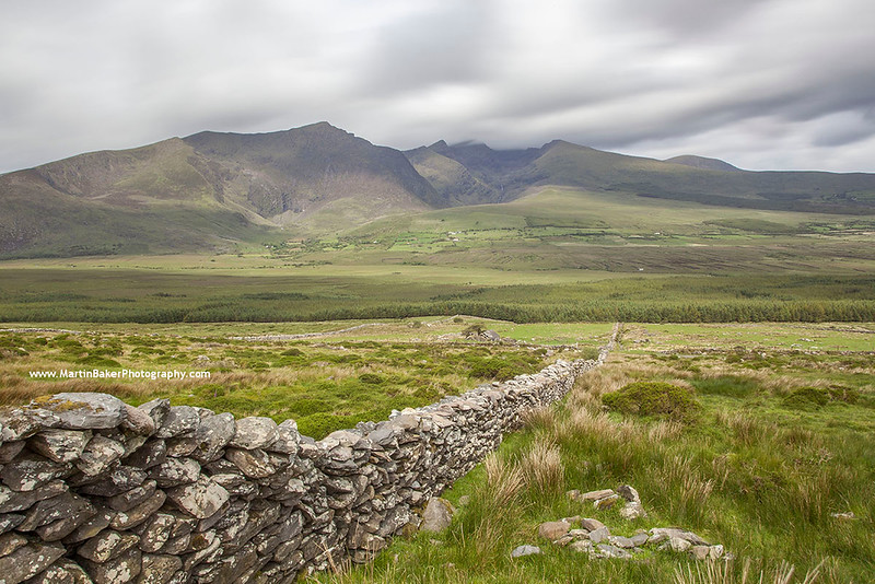 Brandon Peak, Connor Pass, Dingle Peninsula, Kerry, Ireland.