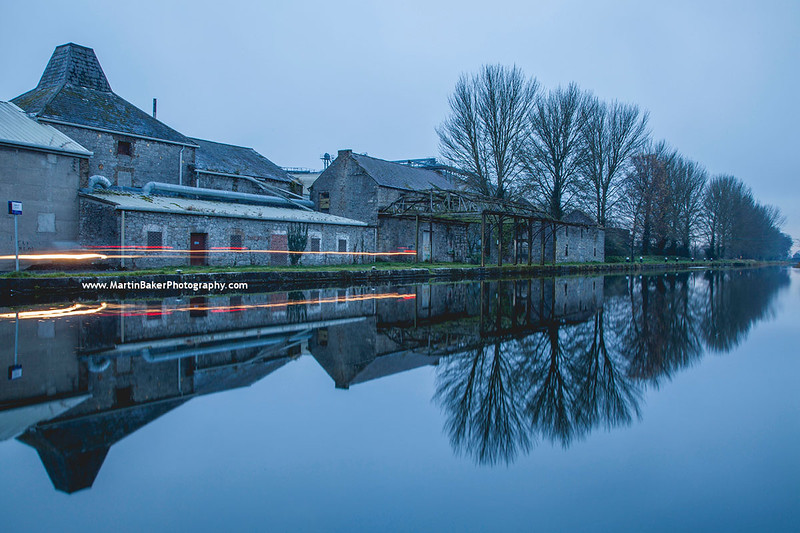 Grand Canal, Athy, Kildare, Ireland.