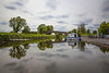 Pike Bridge, Royal Canal, Maynooth, Kildare, Ireland.