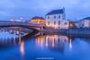 River Nore and John's Bridge, Kilkenny, Ireland.