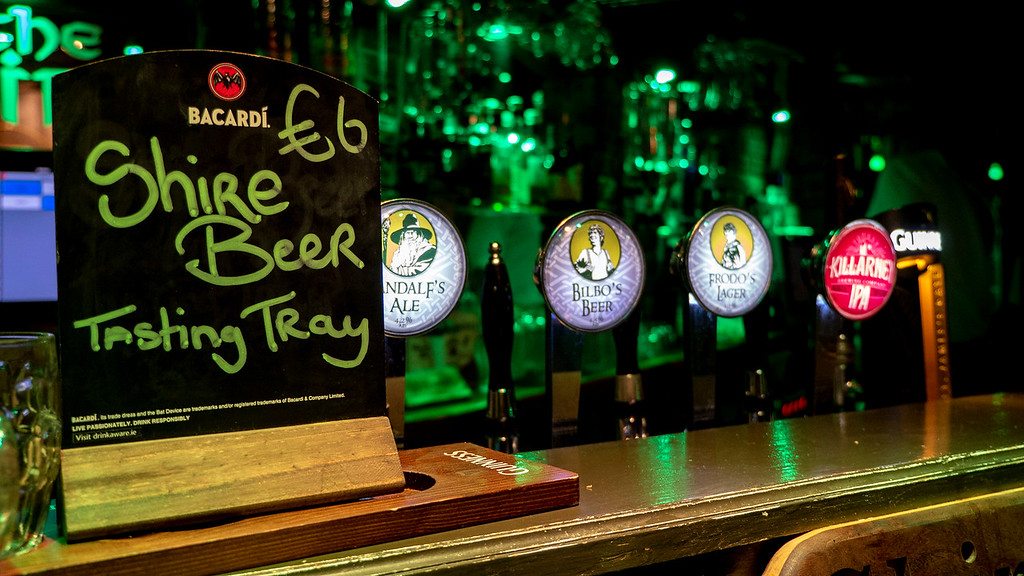 The Shire beer - Lord of the Rings themed pub in Ireland