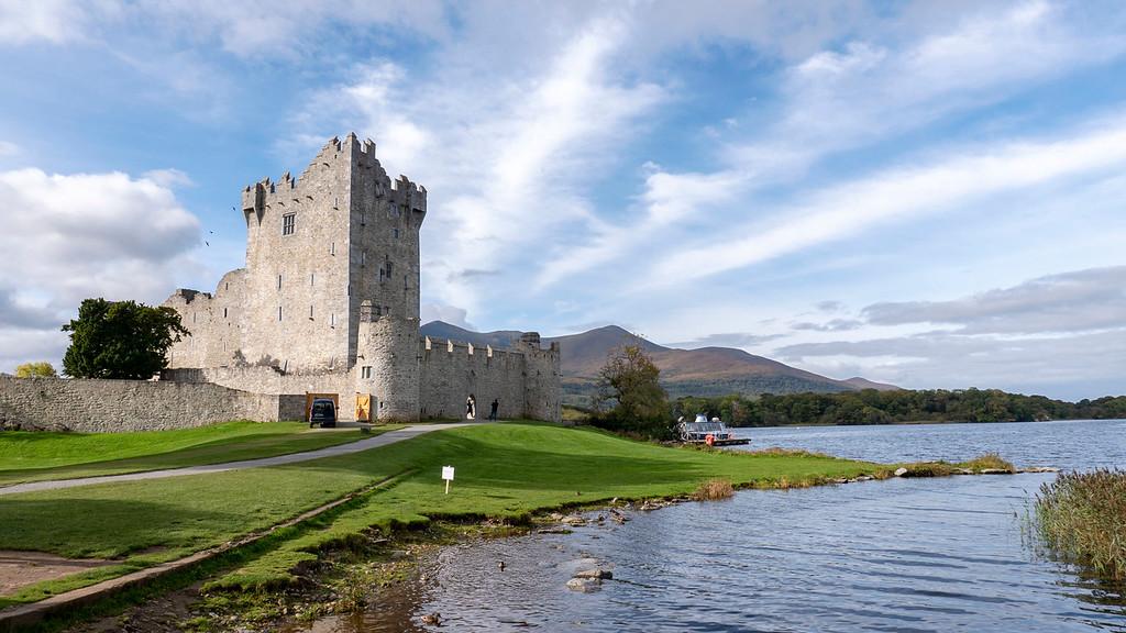 Ross Castle at Killarney National Park