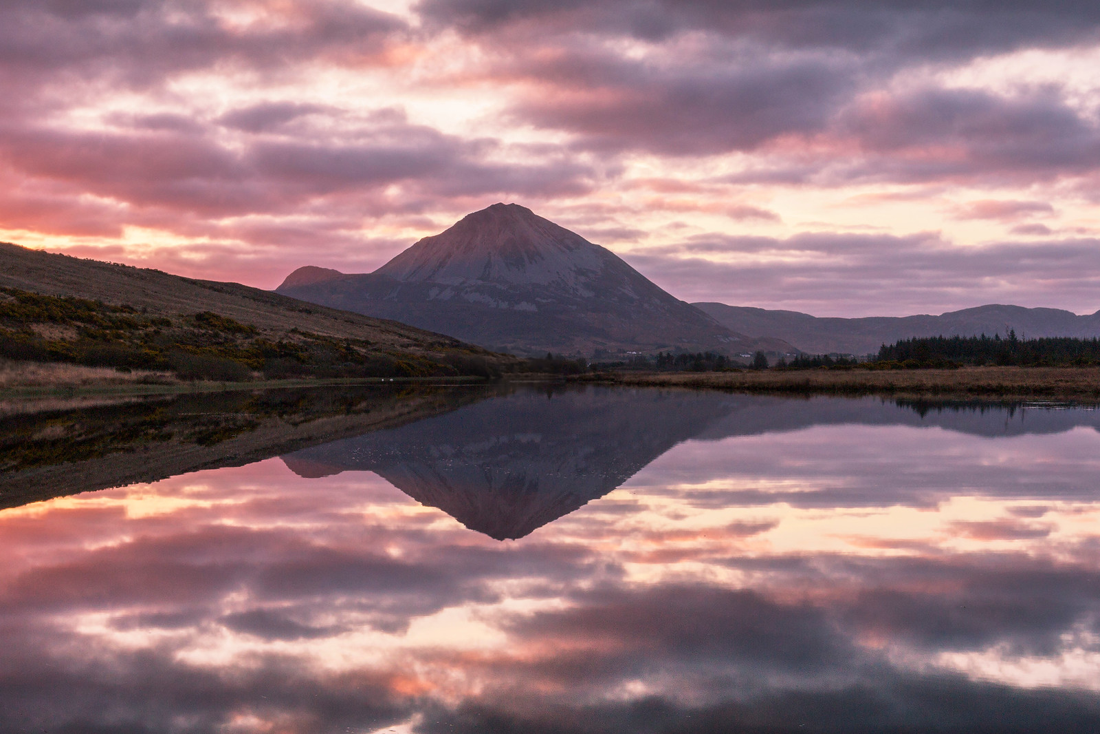Mount Errigal Sunrise