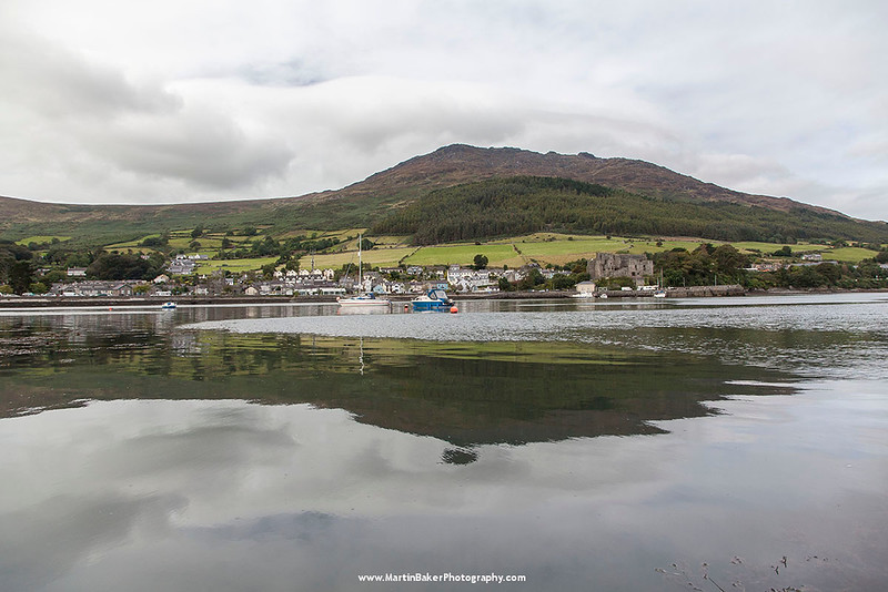 Carlingford Lough and Slieve Foye, Carlingford, Cooley Peninsula, Louth, Ireland.