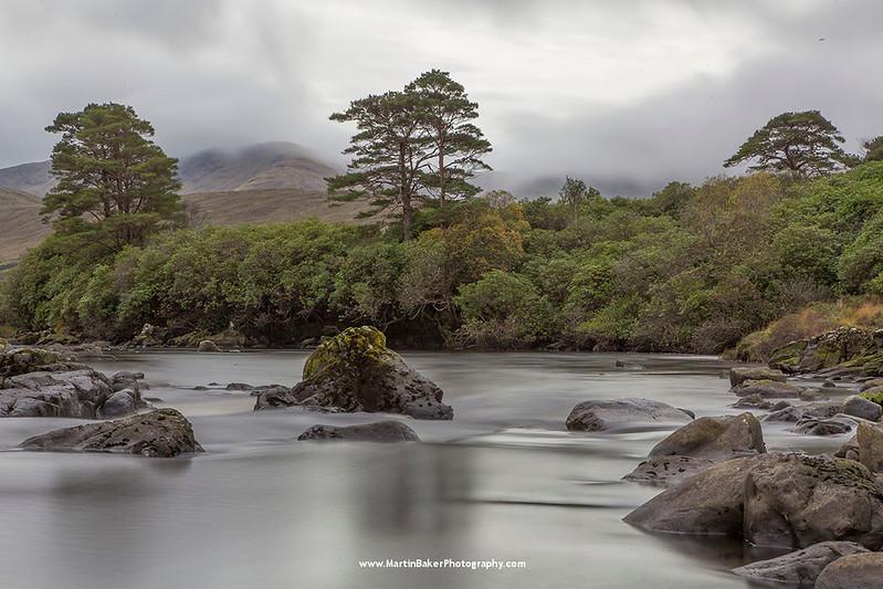 Erriff River, Killary Harbour, Mayo, Ireland.