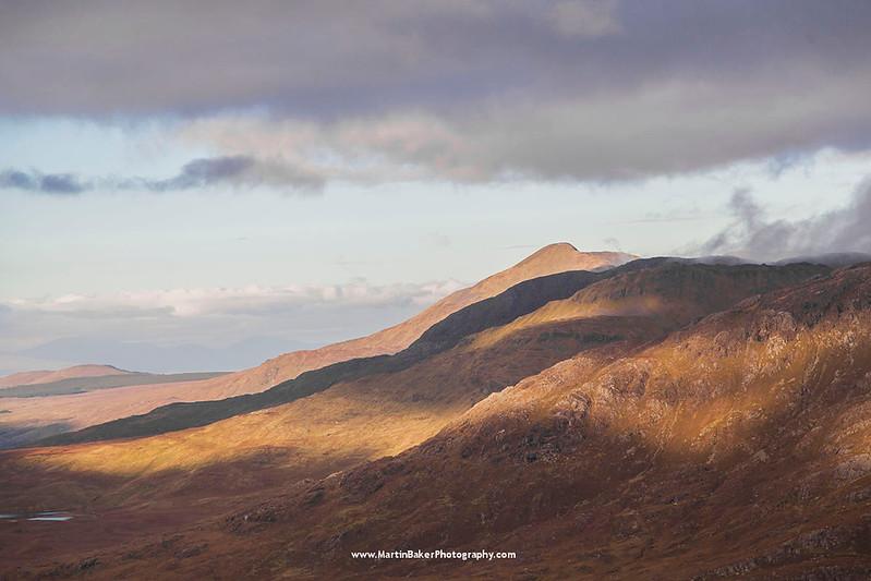 The Mweelrea Mountains, Mayo, Ireland.