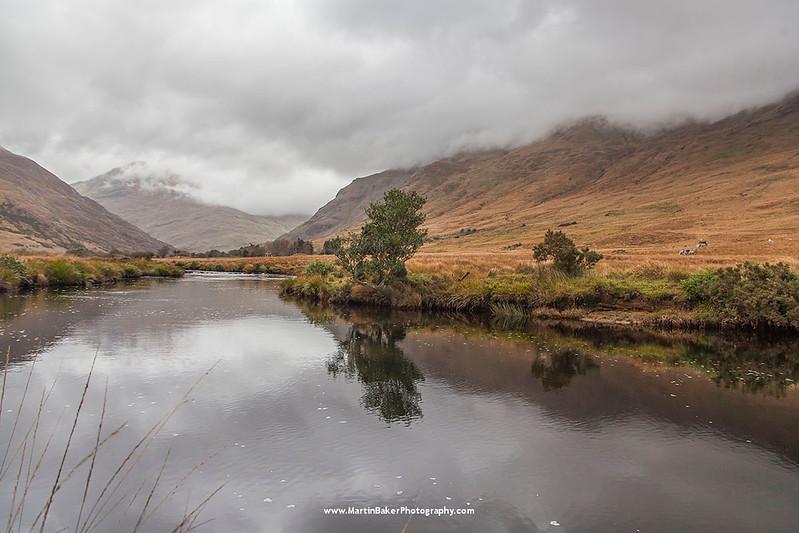 Bundorragha River, Mweelrea Mountains, Mayo, Ireland.