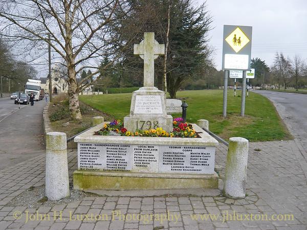 Dunlavin Green Memorial, Dunlavin, County Wicklow - March 21, 2009