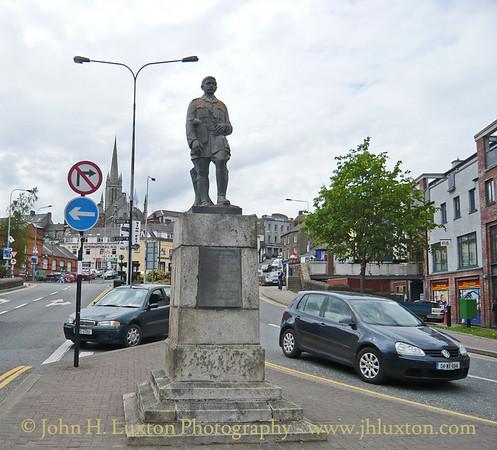 Seamus Rafter Statue, Enniscorthy, County Wexford - May 28, 2008