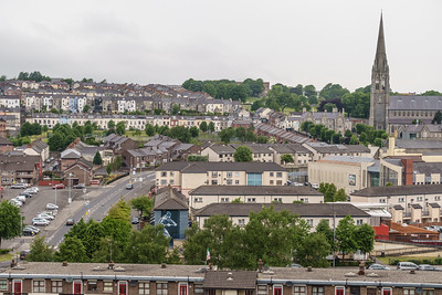 Bogside from City Walls
