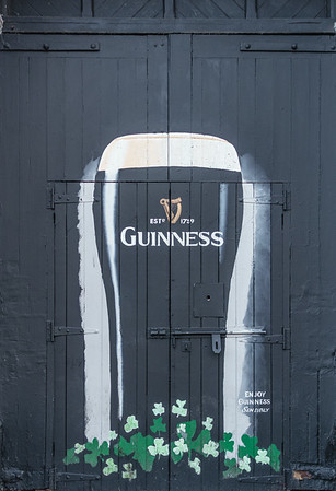 Guinness beer sign